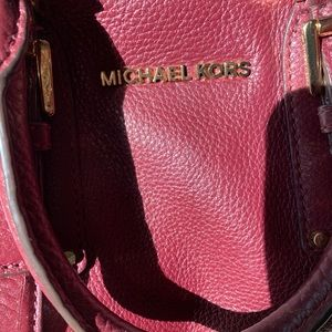Michael Kors .....Handbag.....Burgundy ...